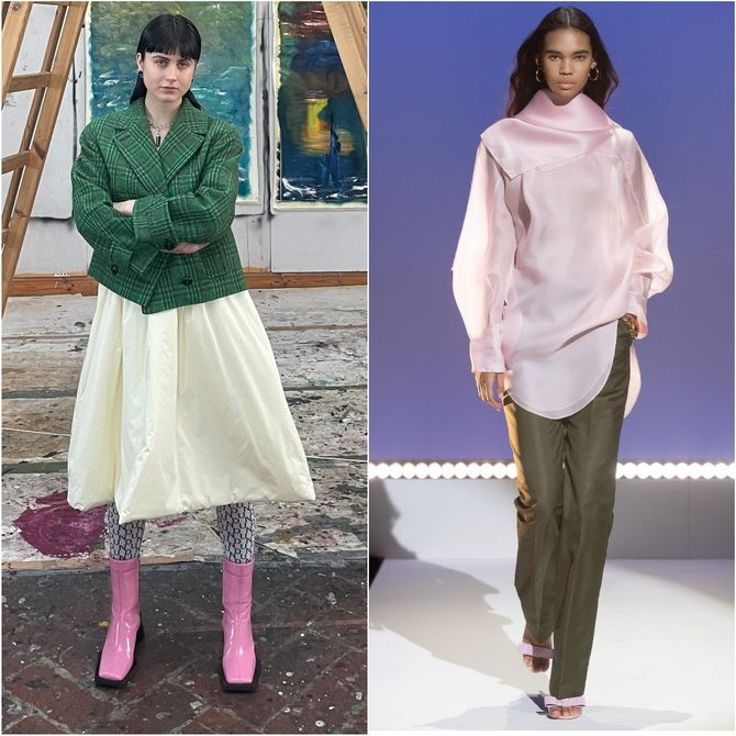 С чем носить розовый – главный весенний цвет 2021 года? 12