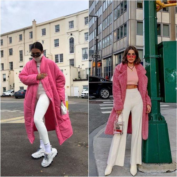 С чем носить розовый – главный весенний цвет 2021 года? 16