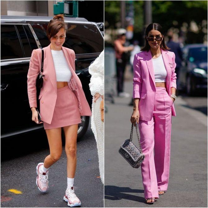 С чем носить розовый – главный весенний цвет 2021 года? 17