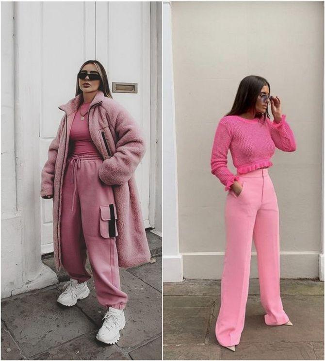 С чем носить розовый – главный весенний цвет 2021 года? 22