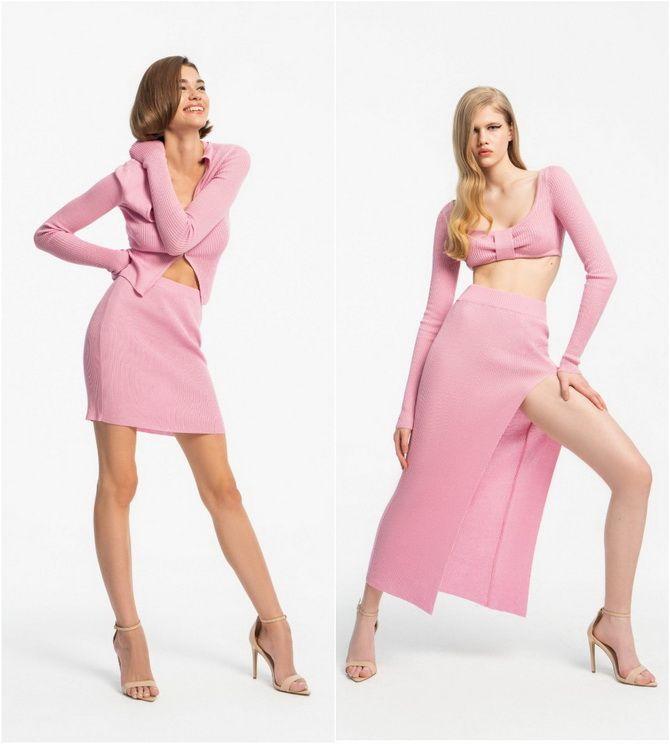 С чем носить розовый – главный весенний цвет 2021 года? 29