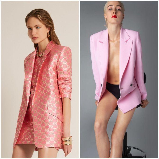 С чем носить розовый – главный весенний цвет 2021 года? 34