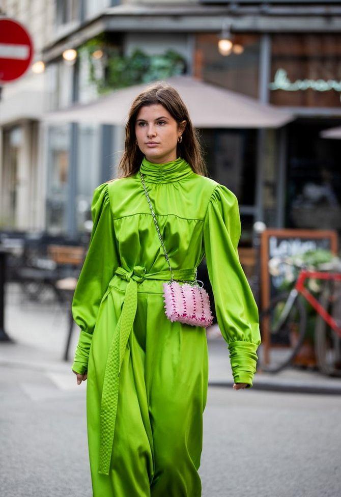 З чим носити зелений колір: фото і модні тенденції 2021 року 10