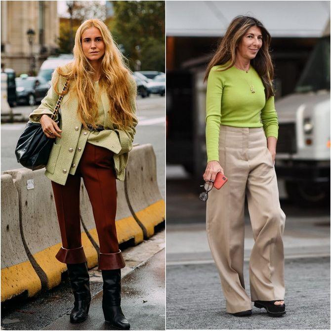 З чим носити зелений колір: фото і модні тенденції 2021 року 16