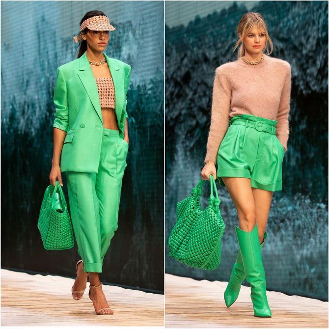 З чим носити зелений колір: фото і модні тенденції 2021 року 17