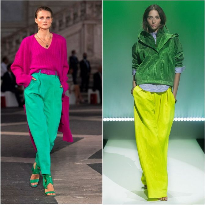 З чим носити зелений колір: фото і модні тенденції 2021 року 18