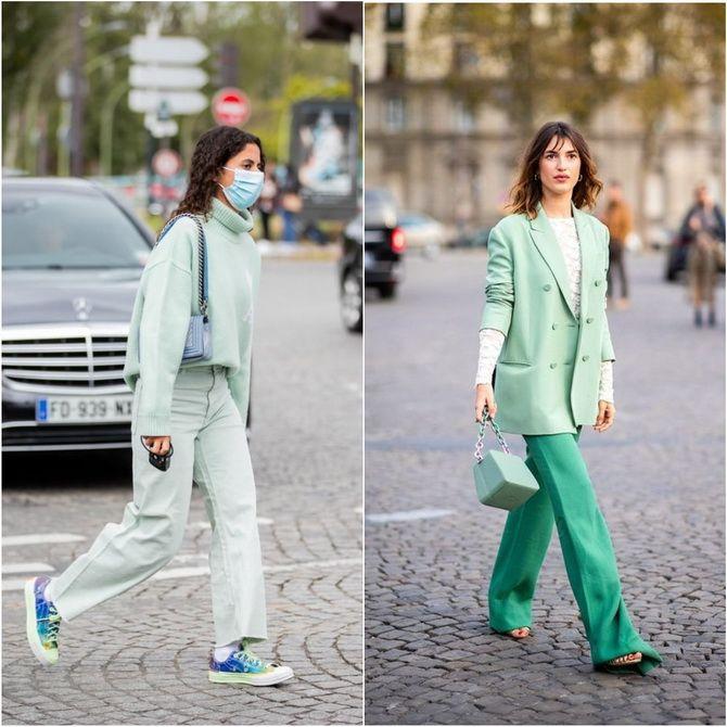 З чим носити зелений колір: фото і модні тенденції 2021 року 19