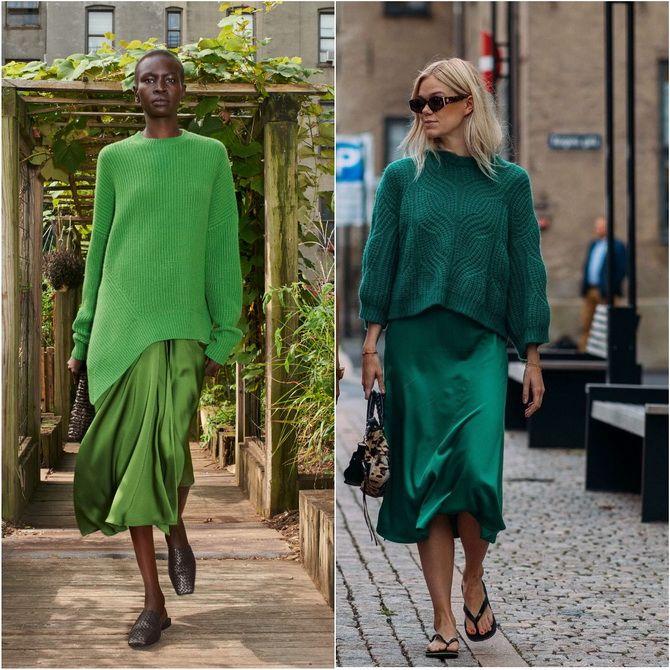 З чим носити зелений колір: фото і модні тенденції 2021 року 20