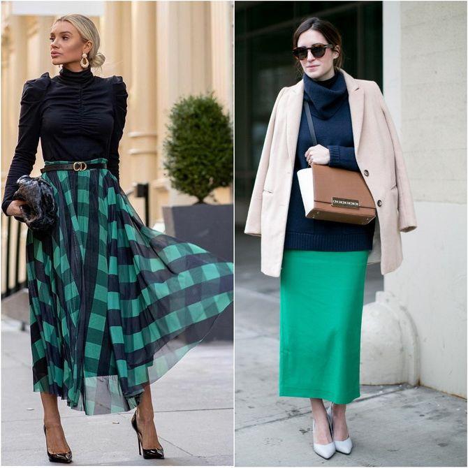 З чим носити зелений колір: фото і модні тенденції 2021 року 22
