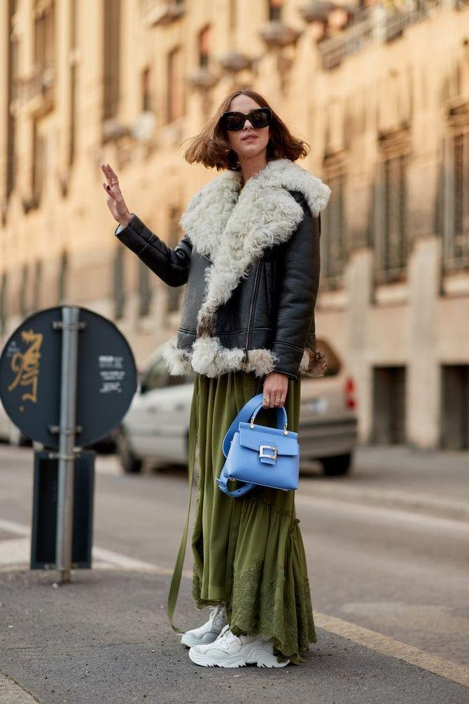 З чим носити зелений колір: фото і модні тенденції 2021 року 23