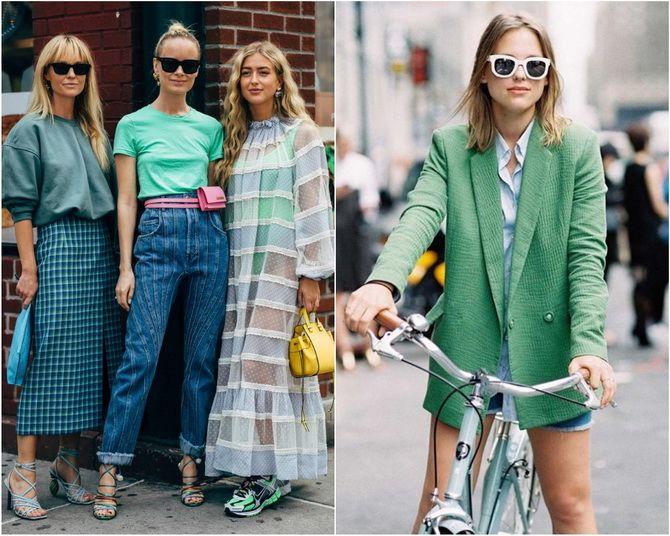 З чим носити зелений колір: фото і модні тенденції 2021 року 26