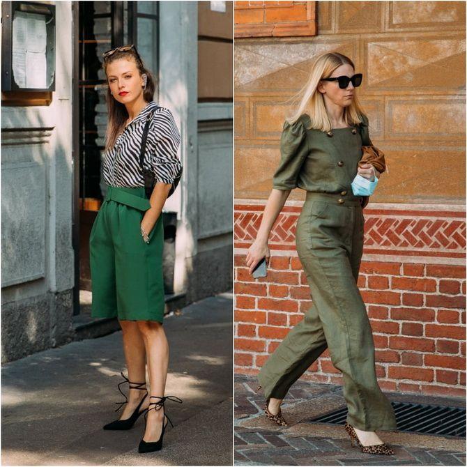 З чим носити зелений колір: фото і модні тенденції 2021 року 29