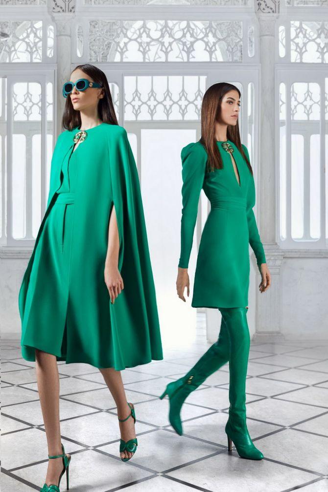 З чим носити зелений колір: фото і модні тенденції 2021 року 3