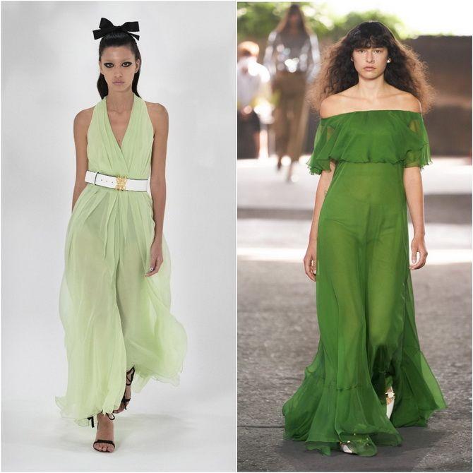 З чим носити зелений колір: фото і модні тенденції 2021 року 30