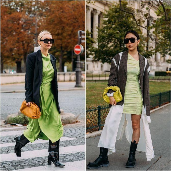 З чим носити зелений колір: фото і модні тенденції 2021 року 31