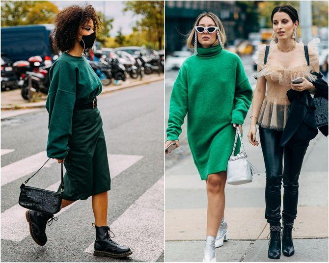З чим носити зелений колір: фото і модні тенденції 2021 року 32