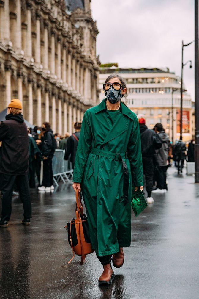З чим носити зелений колір: фото і модні тенденції 2021 року 35