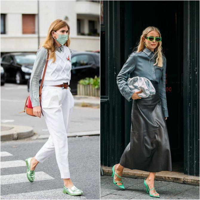 З чим носити зелений колір: фото і модні тенденції 2021 року 37