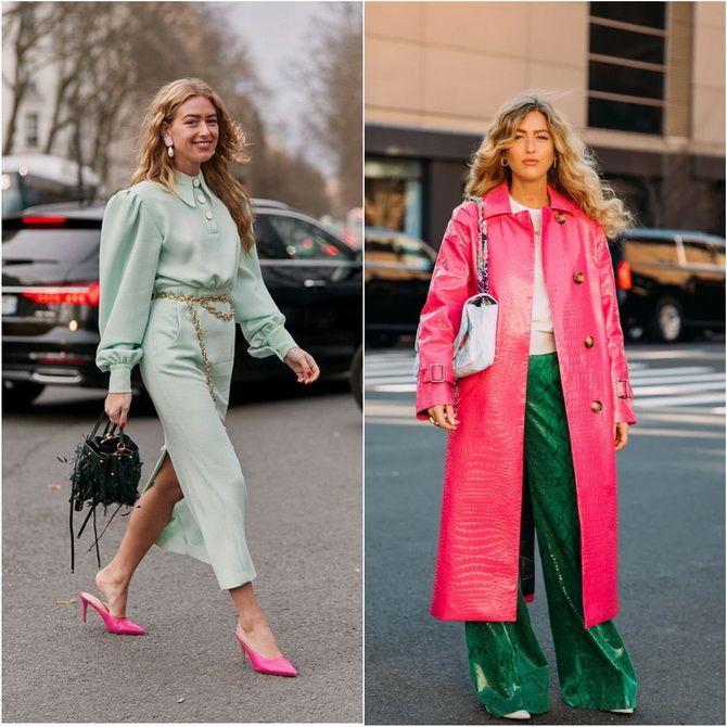 З чим носити зелений колір: фото і модні тенденції 2021 року 9