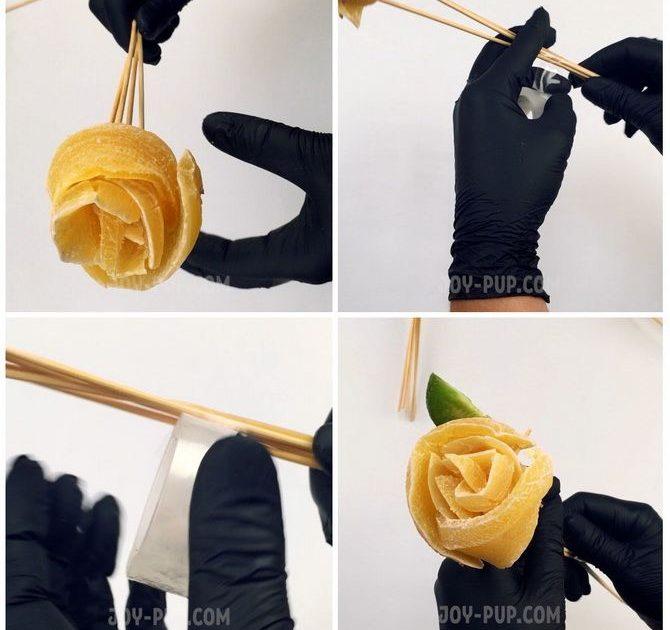 Букет із сухофруктів своїми руками: красива і смачна ідея на 8 березня 10