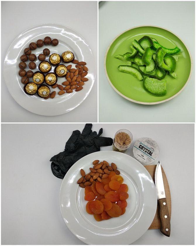 Букет із сухофруктів своїми руками: красива і смачна ідея на 8 березня 16