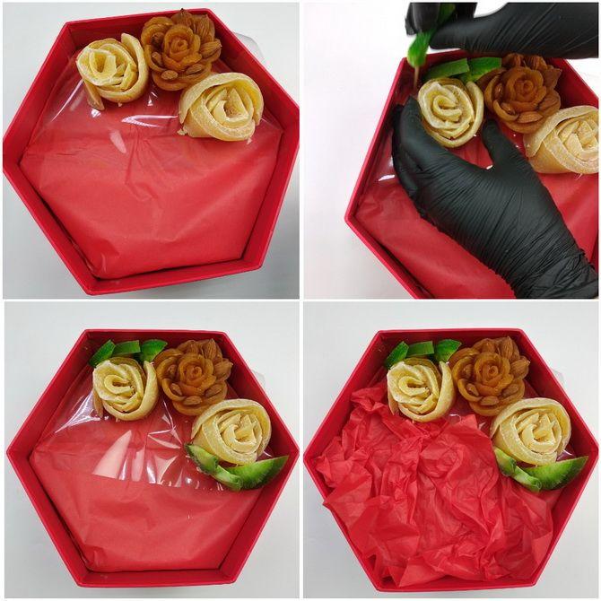 Букет із сухофруктів своїми руками: красива і смачна ідея на 8 березня 20