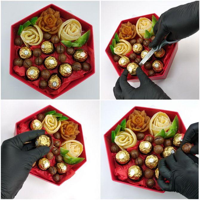Букет із сухофруктів своїми руками: красива і смачна ідея на 8 березня 21