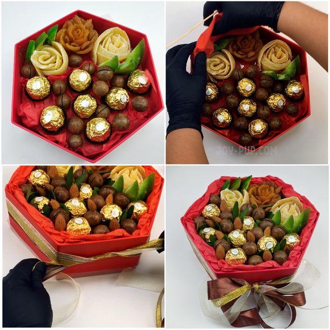 Букет із сухофруктів своїми руками: красива і смачна ідея на 8 березня 22