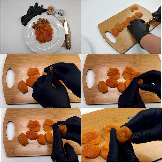 Букет із сухофруктів своїми руками: красива і смачна ідея на 8 березня 5