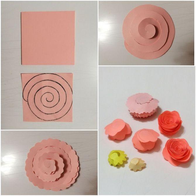Букет на 8 марта своими руками: креативные идеи из бумаги, из конфет, из подручных материалов 2