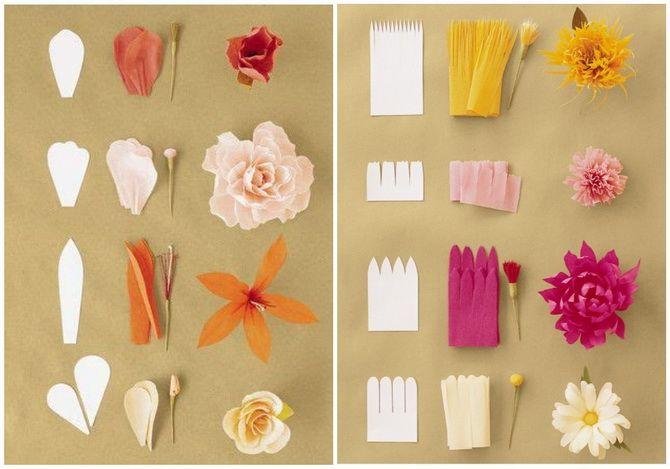Букет на 8 березня своїми руками: креативні ідеї з паперу, з цукерок, з підручних матеріалів 12