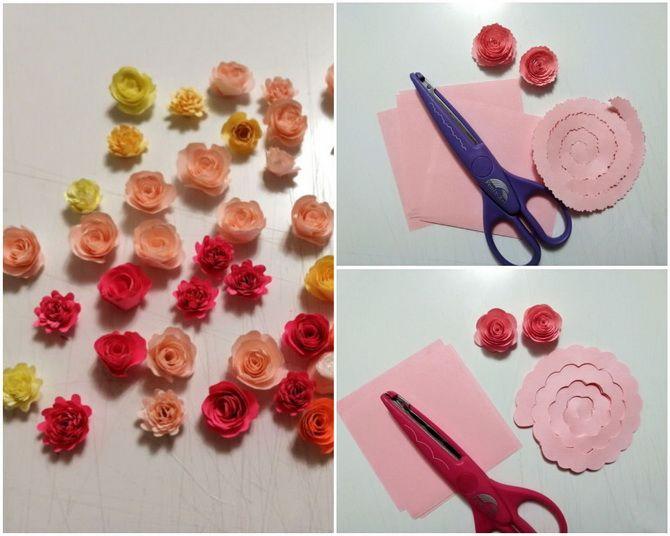 Букет на 8 березня своїми руками: креативні ідеї з паперу, з цукерок, з підручних матеріалів 3