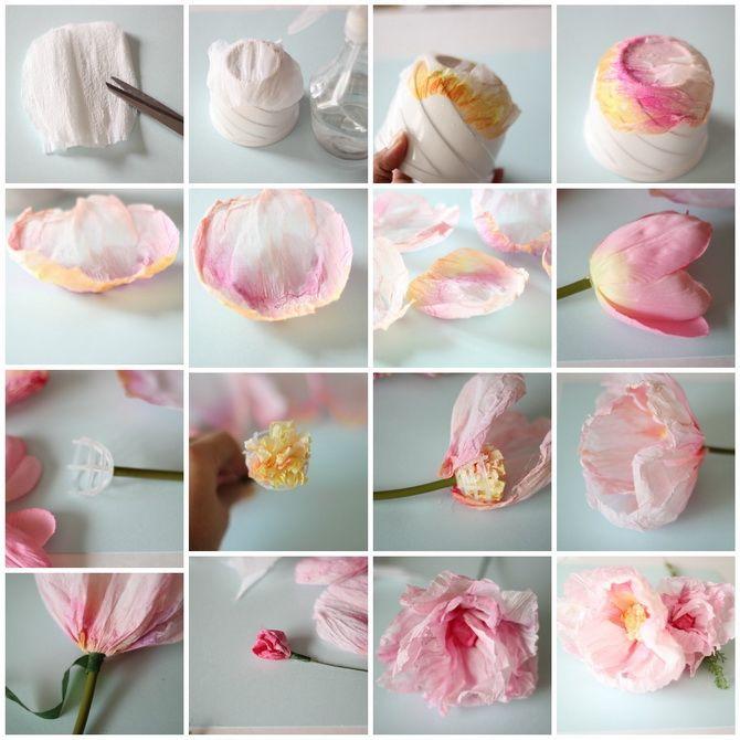 Букет на 8 березня своїми руками: креативні ідеї з паперу, з цукерок, з підручних матеріалів 29
