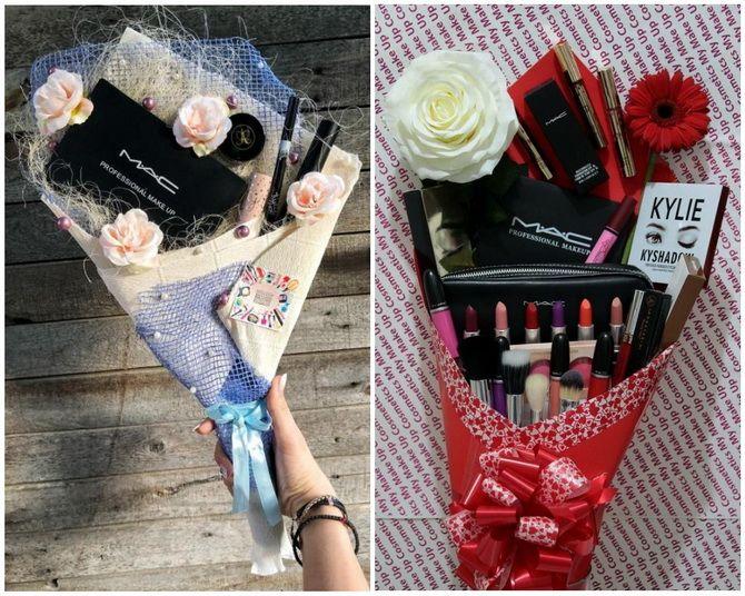 Букет на 8 березня своїми руками: креативні ідеї з паперу, з цукерок, з підручних матеріалів 31