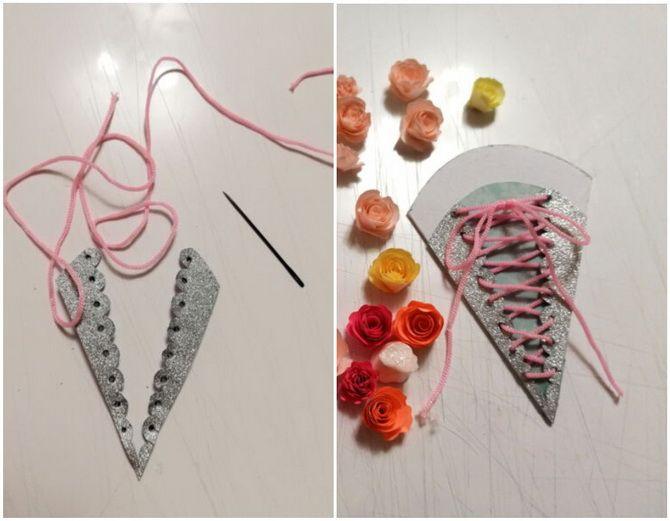 Букет на 8 березня своїми руками: креативні ідеї з паперу, з цукерок, з підручних матеріалів 9