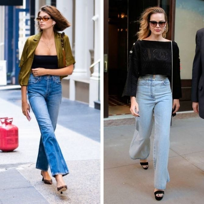 Как выбирать правильные джинсы-клеш: модные советы 1