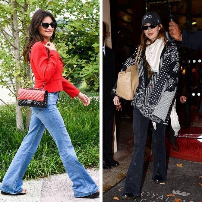 Как выбирать правильные джинсы-клеш: модные советы 2