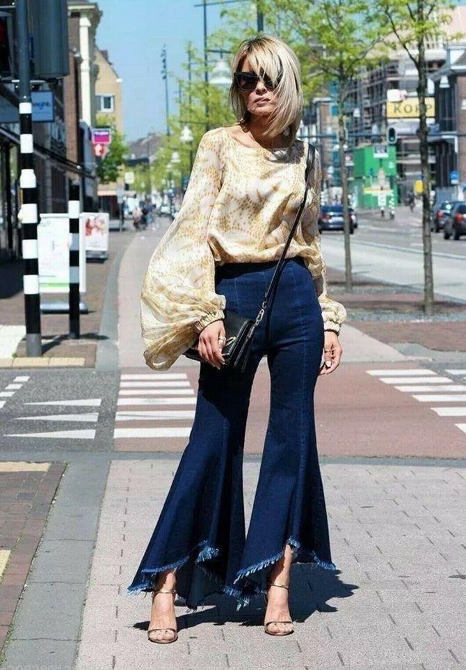 Как выбирать правильные джинсы-клеш: модные советы 14