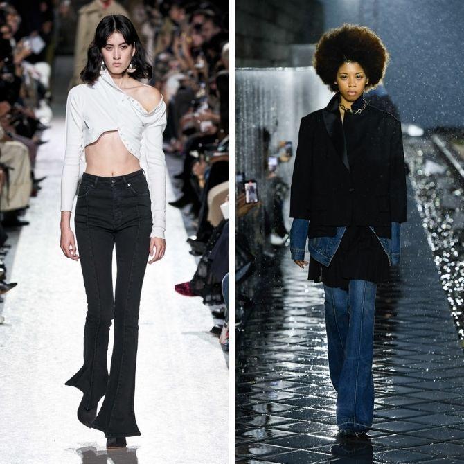 Как выбирать правильные джинсы-клеш: модные советы 4