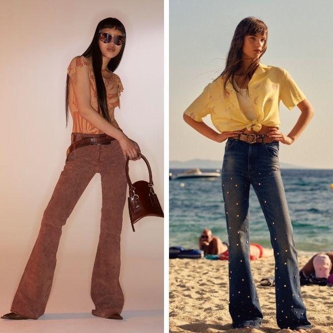 Как выбирать правильные джинсы-клеш: модные советы 5