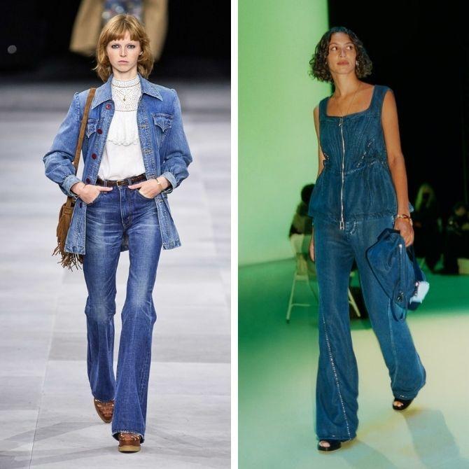 Как выбирать правильные джинсы-клеш: модные советы 6