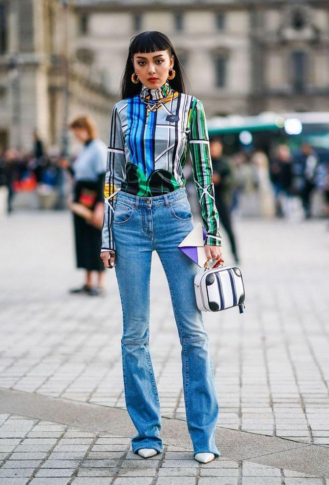 Как выбирать правильные джинсы-клеш: модные советы 7