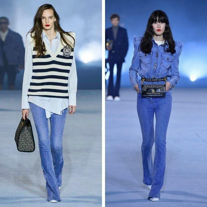 Как выбирать правильные джинсы-клеш: модные советы 3
