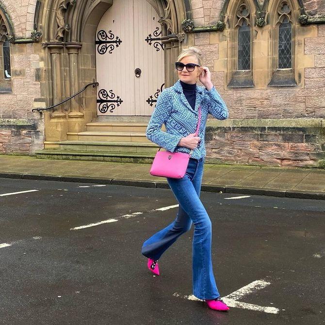 Как выбирать правильные джинсы-клеш: модные советы 10