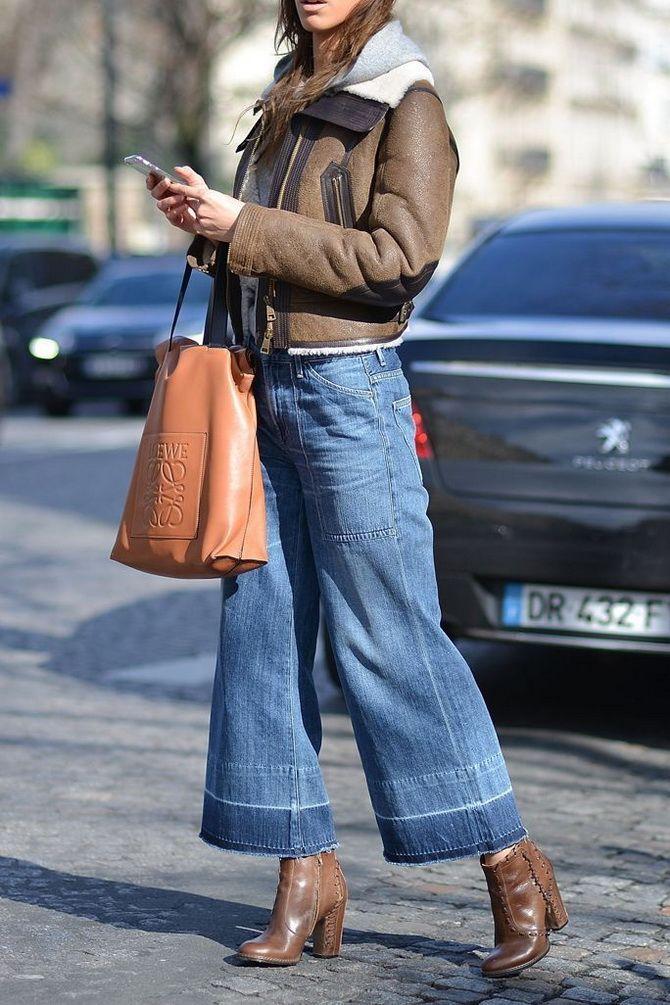 Как выбирать правильные джинсы-клеш: модные советы 11