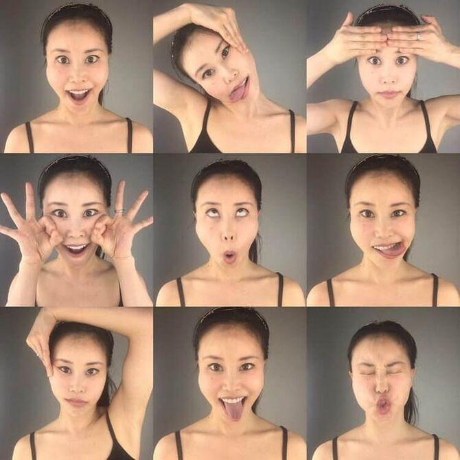 Фейс-йога творит чудеса – лучшие упражнения, чтобы убрать морщины с лица 3