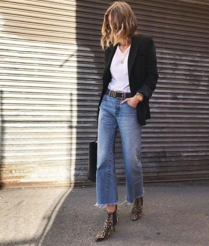 Как выбирать правильные джинсы-клеш: модные советы 25