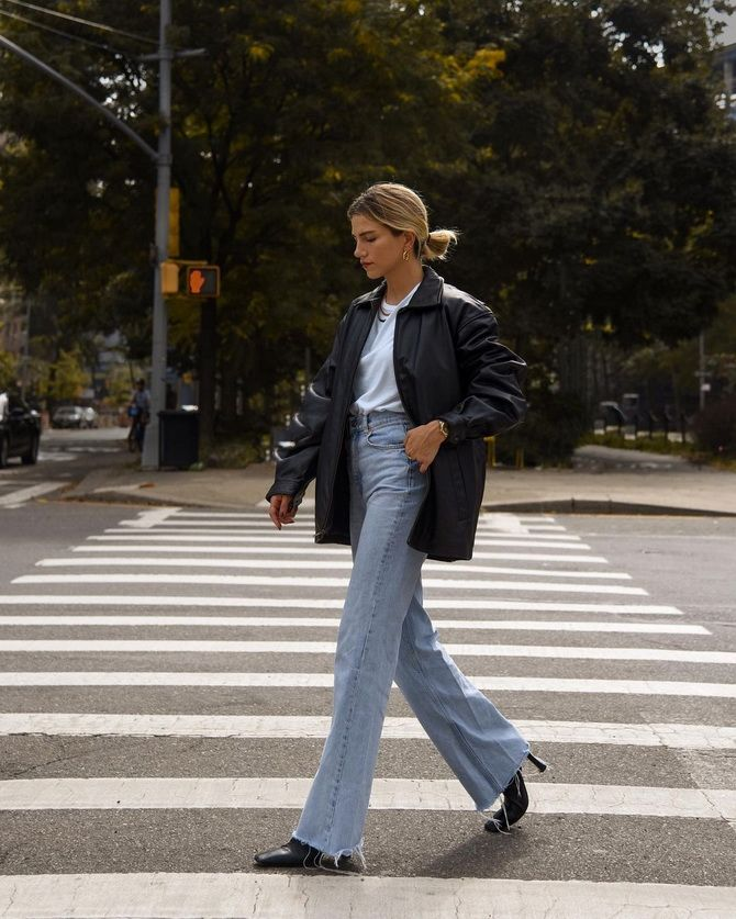 Как выбирать правильные джинсы-клеш: модные советы 26