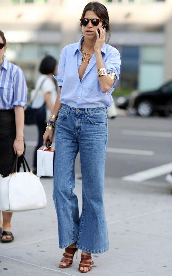 Как выбирать правильные джинсы-клеш: модные советы 21