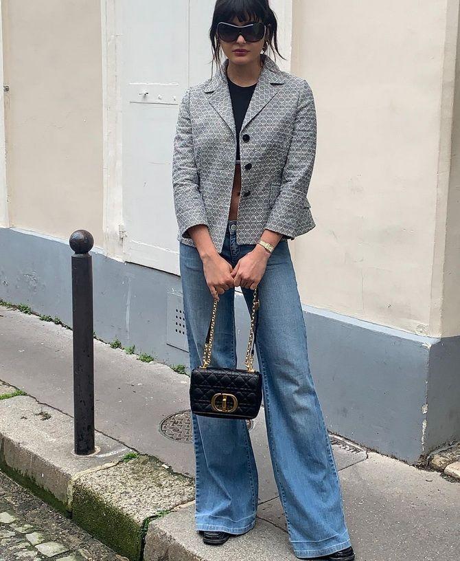 Как выбирать правильные джинсы-клеш: модные советы 18
